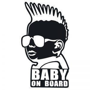 Crazy baby on board