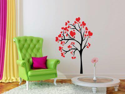 Δέντρο με καρδίες