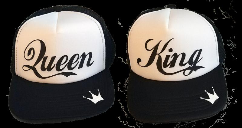 Καπέλο King and Queen (σετ 2 τέμ.)