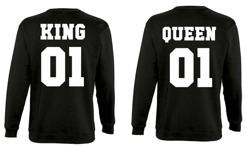 Φούτερ King and Queen (σετ 2 τεμ.)