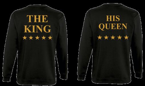 Φουτερ The king and His Queen Star gold