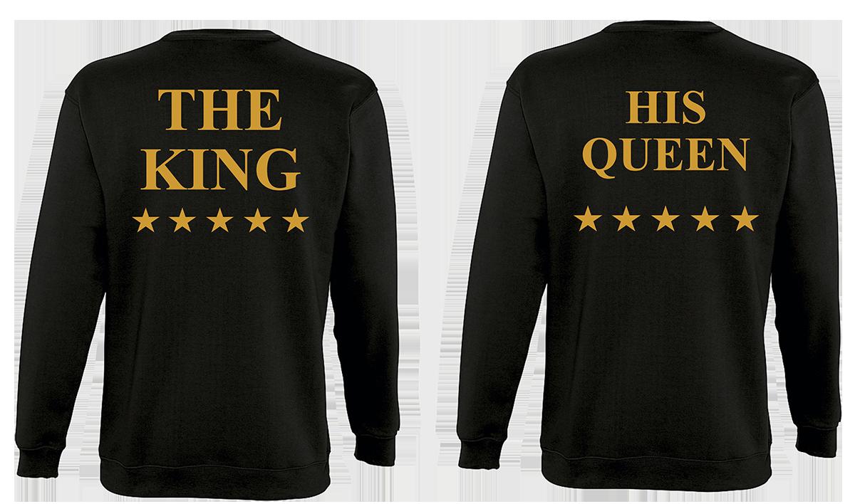 Φουτερ The King and His Queen Star Gold (σετ 2 τεμ.)  040a2670908