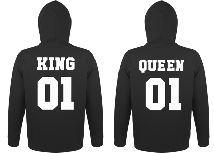 Hoodies King and Queen