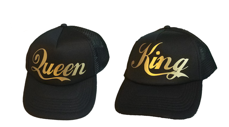 Καπέλο King and Queen Gold edition no2