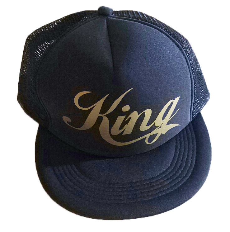 Καπέλο King gold edition