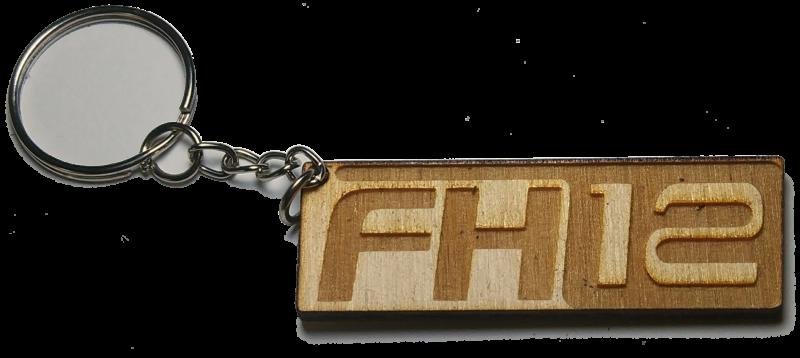 Μπρελόκ ξύλινο FH12