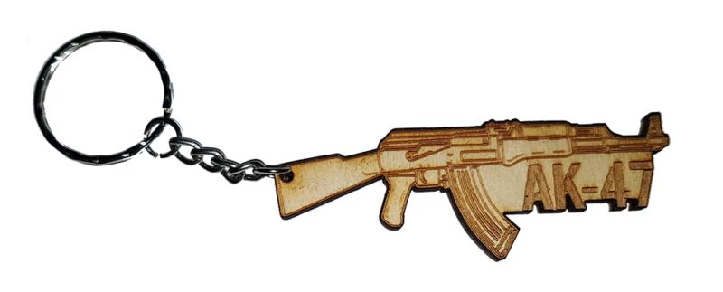 Μπρελόκ Ak-47 Ξύλινο