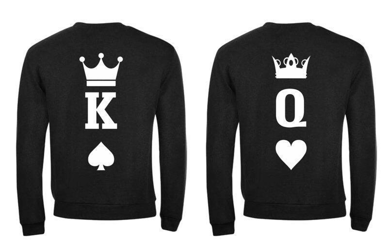 Φούτερ King and Queen  (σετ 2 τεμ. ) Κωδ.:8088